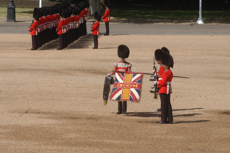 Download Trooping the Colour, editorial stock image. Image of grenadier - 23349064