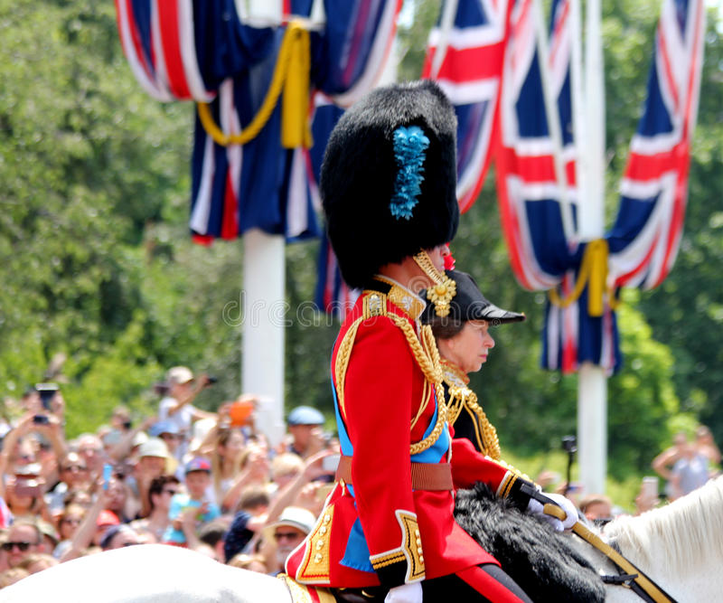 Trooping The Colour 2017 London England stock image