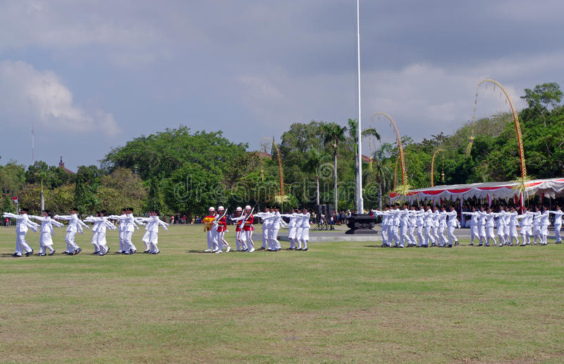 Troops Marching, Indonesia