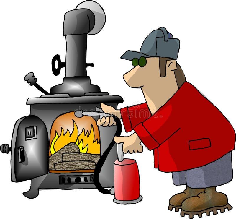 Trop chaud illustration de vecteur
