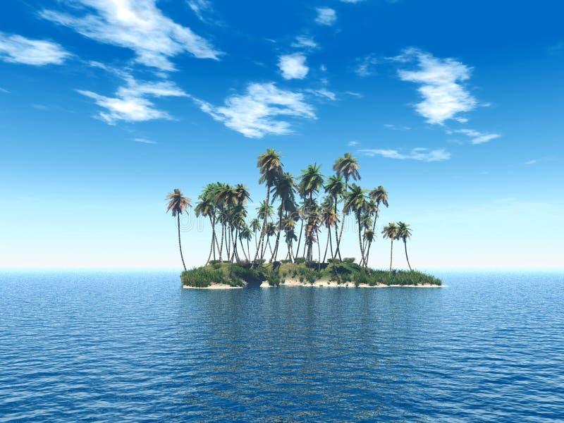 Trop_island stock illustratie
