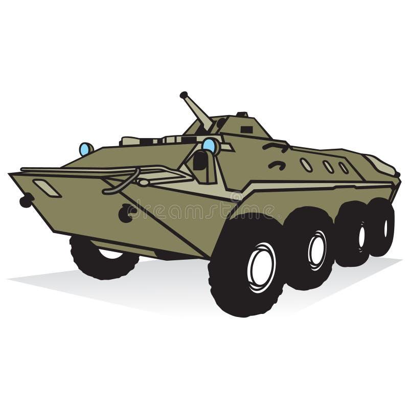 Download Tropa-portador acorazado stock de ilustración. Ilustración de equipo - 42434908