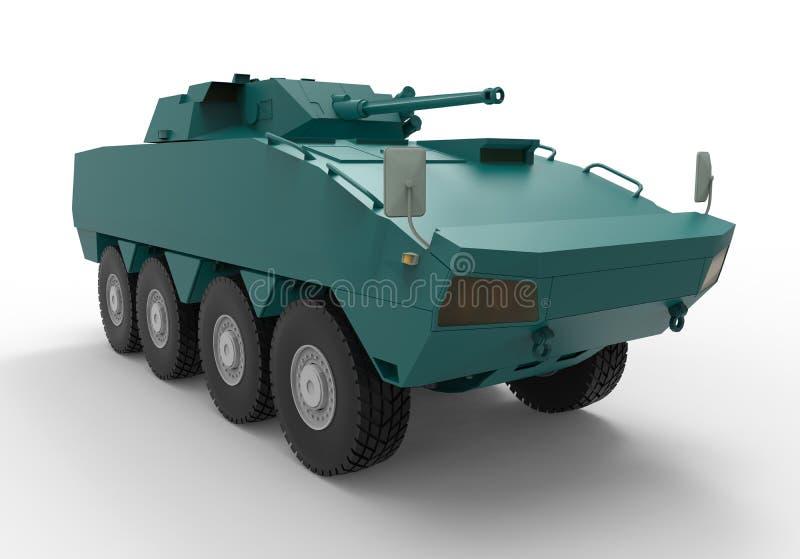 Tropa-portador blindado ilustração royalty free