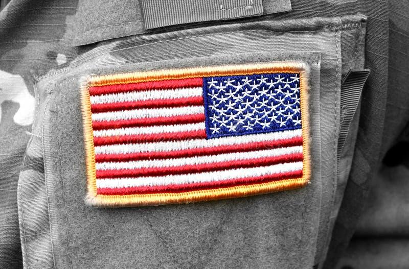 Tropas dos E.U. Soldados dos E.U. Exército dos EUA imagem de stock royalty free