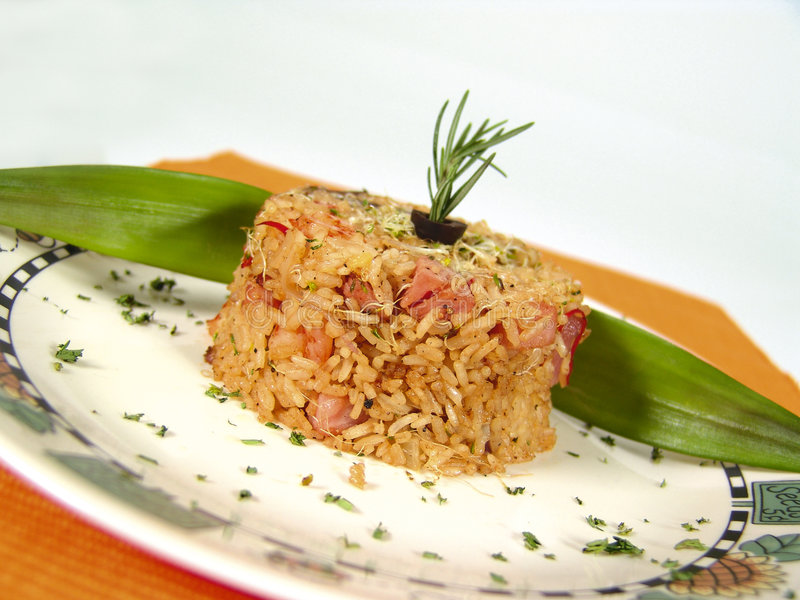 Tropcial Reis lizenzfreies stockbild