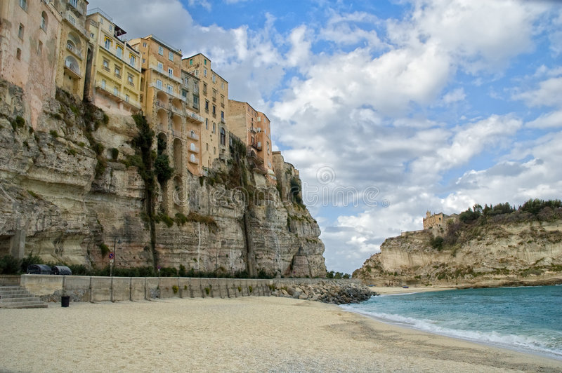 tropea της Καλαβρίας Ιταλία στοκ φωτογραφία με δικαίωμα ελεύθερης χρήσης