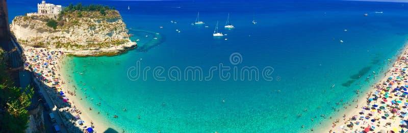 Tropea, Италия стоковое фото rf