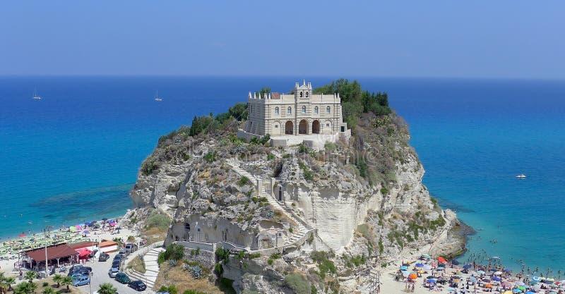 Download Tropea stock image. Image of landscape, castle, idyllic - 27679643