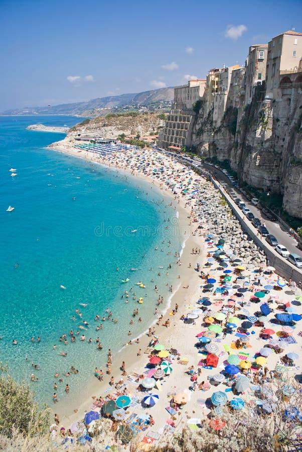 Tropea in Calabria, Italy royalty free stock photos
