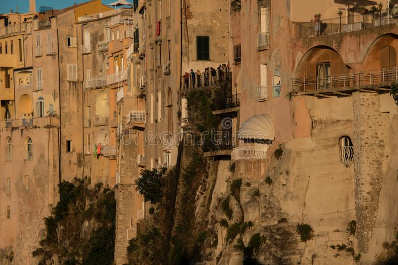 Tropea, famous city in Calabria stock photo