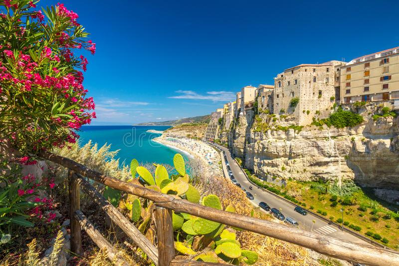 Tropea town in Calabria. royalty free stock image