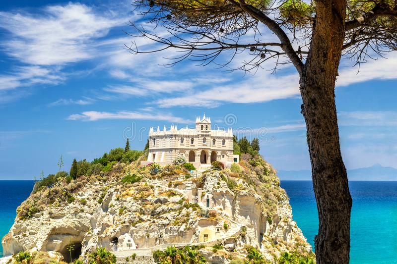 Tropea town in Calabria. royalty free stock images