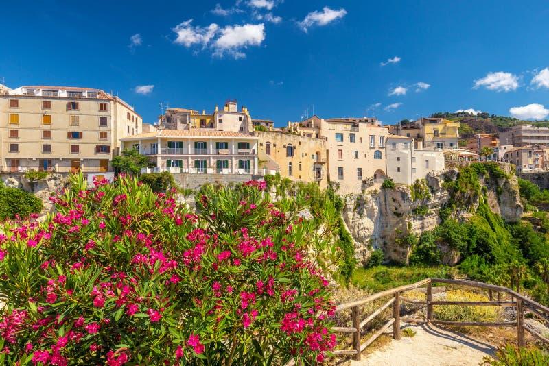 Tropea town in Calabria. royalty free stock photos