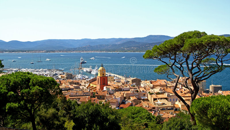 tropez de saint photographie stock