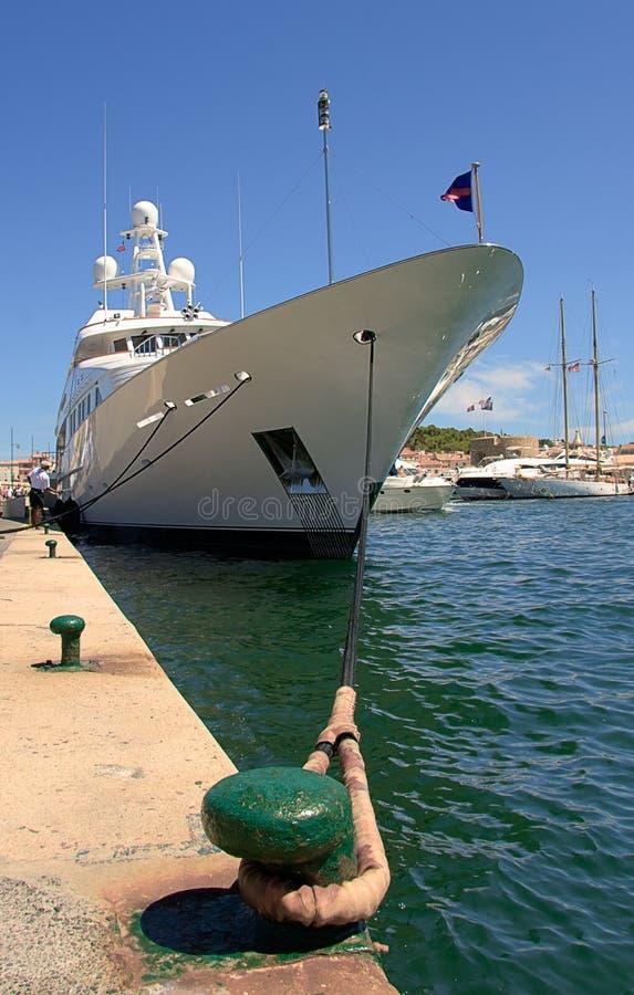 tropez för st för france port s royaltyfria foton