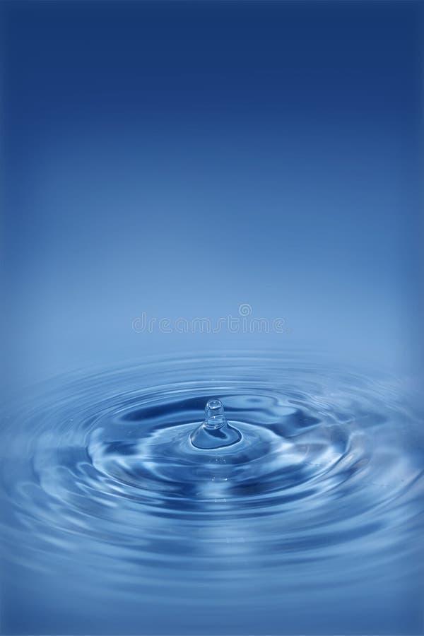 Tropfen des Wassers stockfotos