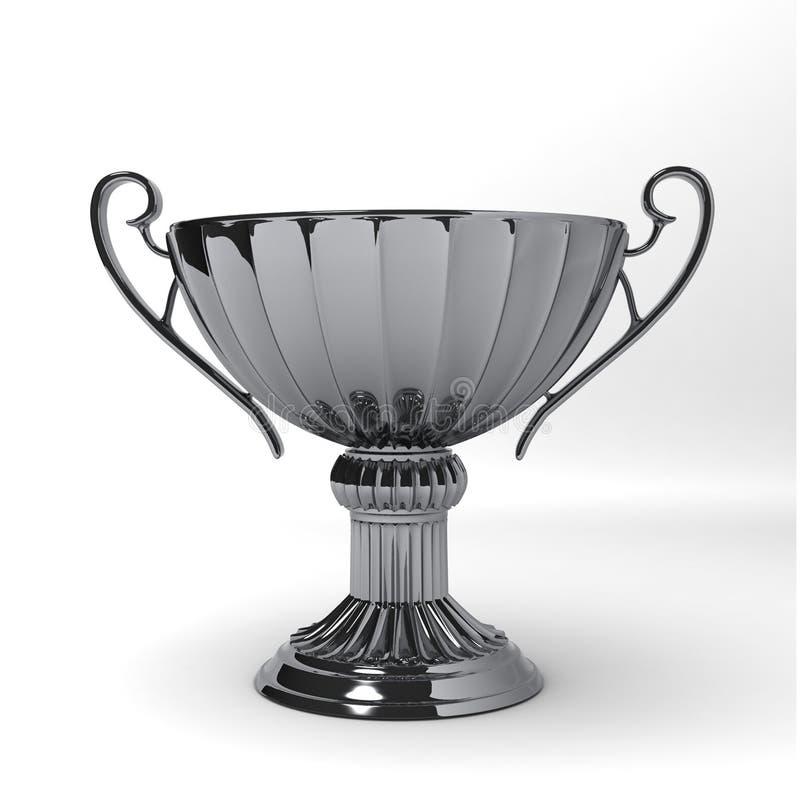 TROPHÄE-CUP Silber lizenzfreie abbildung