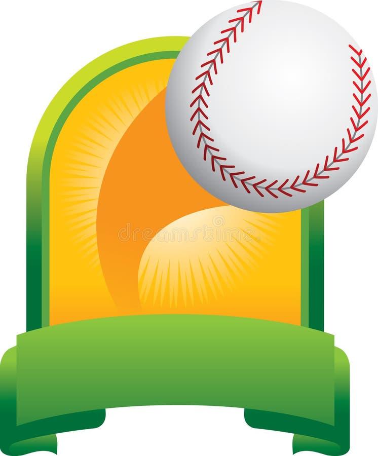 trophée de base-ball illustration libre de droits