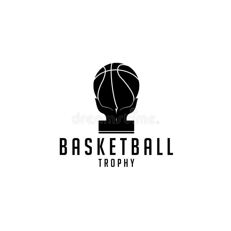 Troph?e de basket-ball illustration stock