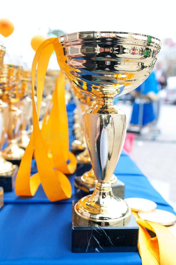 Download Trophies stock image. Image of bowl, celebration, prize - 34160229