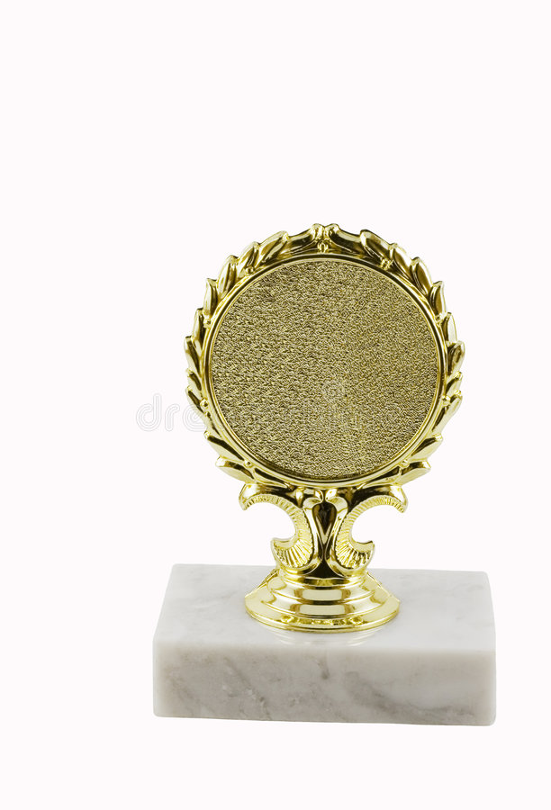 Download Trophy with a marble stand stock image. Image of stand - 5574881