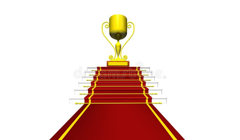 Download Trophy stock illustration. Image of star, trophy, sports - 6621532