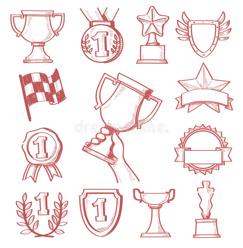 Trophy And Awards Royalty Free Stock Image