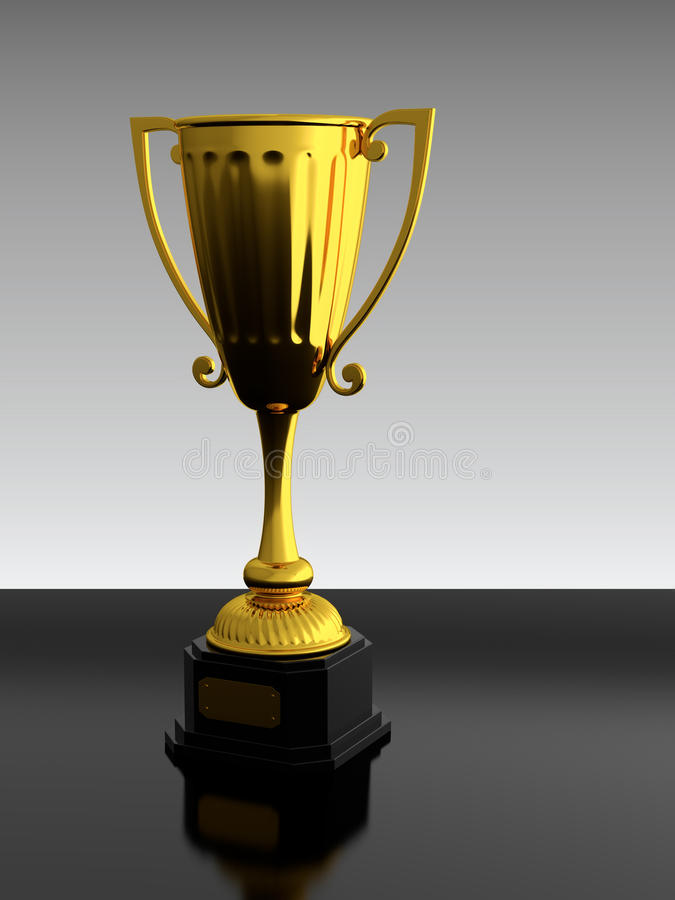 Trophy cup vector illustration