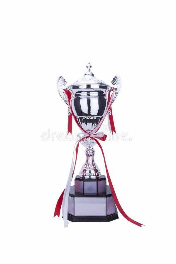 The trophy royalty free stock photography