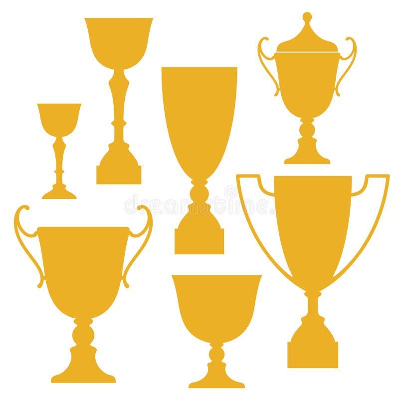 Download Trophy stock vector. Image of achievement, vintage, gold - 32470037