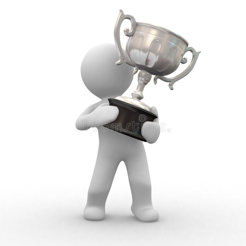 Download Trophy silver stock illustration. Image of toon, premium - 3579055