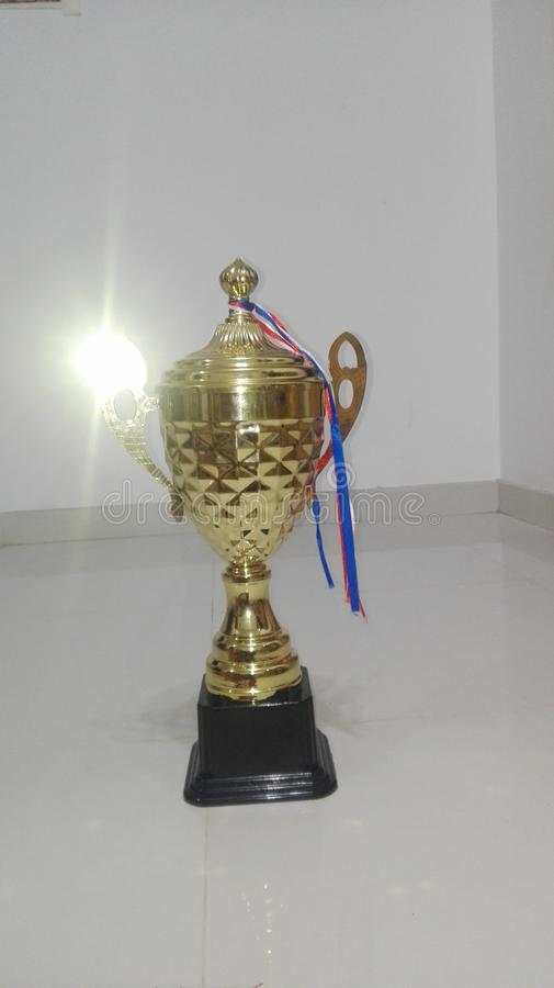 Trophy royalty free stock photos