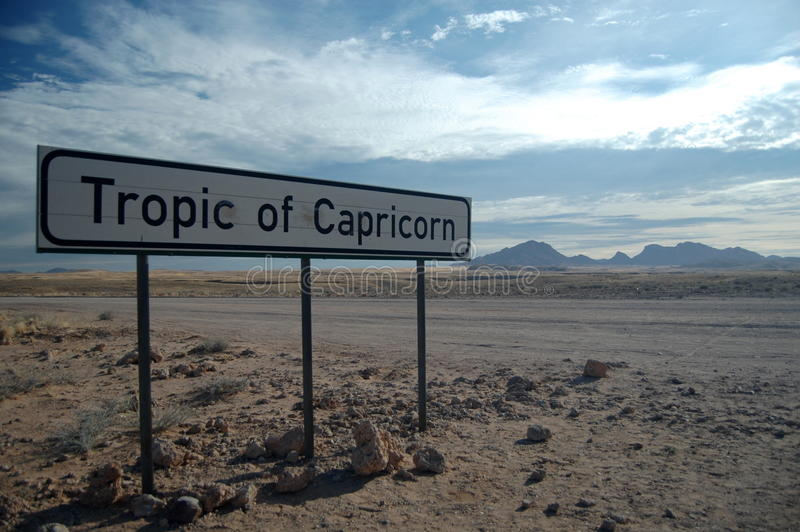 Tropic Of Capricorn Stock Images