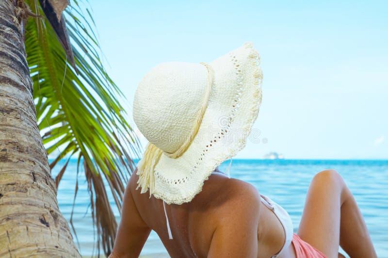 Tropic lounge stock image