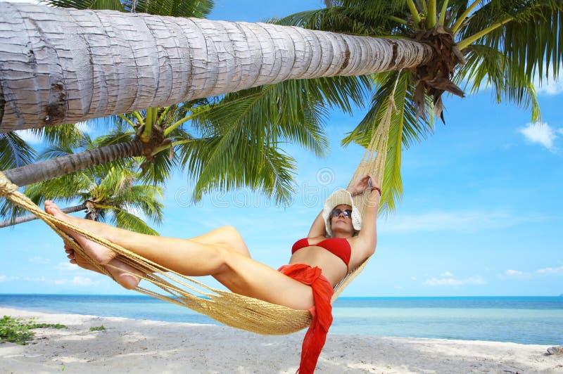 Tropic lounge stock photos