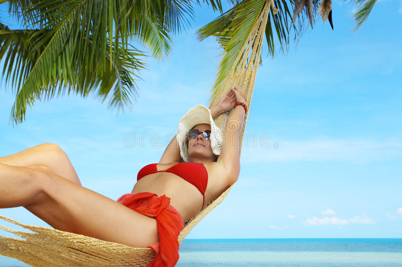 Download In tropic net stock photo. Image of plage, sailor, resort - 5257774