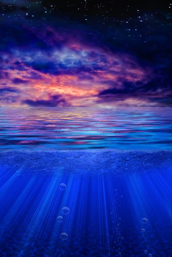 Download Tropic Twilight stock illustration. Image of landscape - 14116710