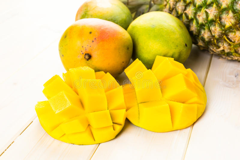 Tropica fruits royalty free stock photos