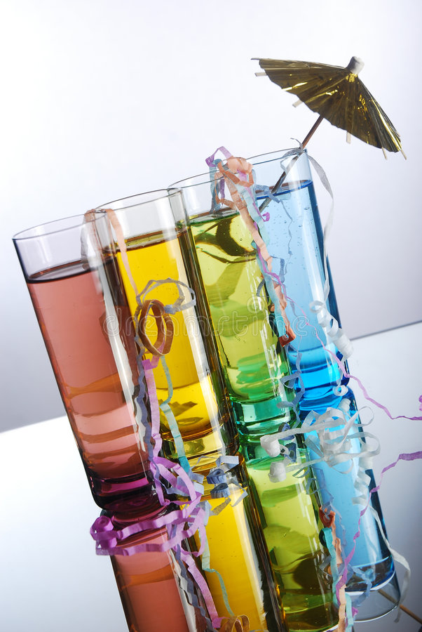 Tropical alcohol stock photography