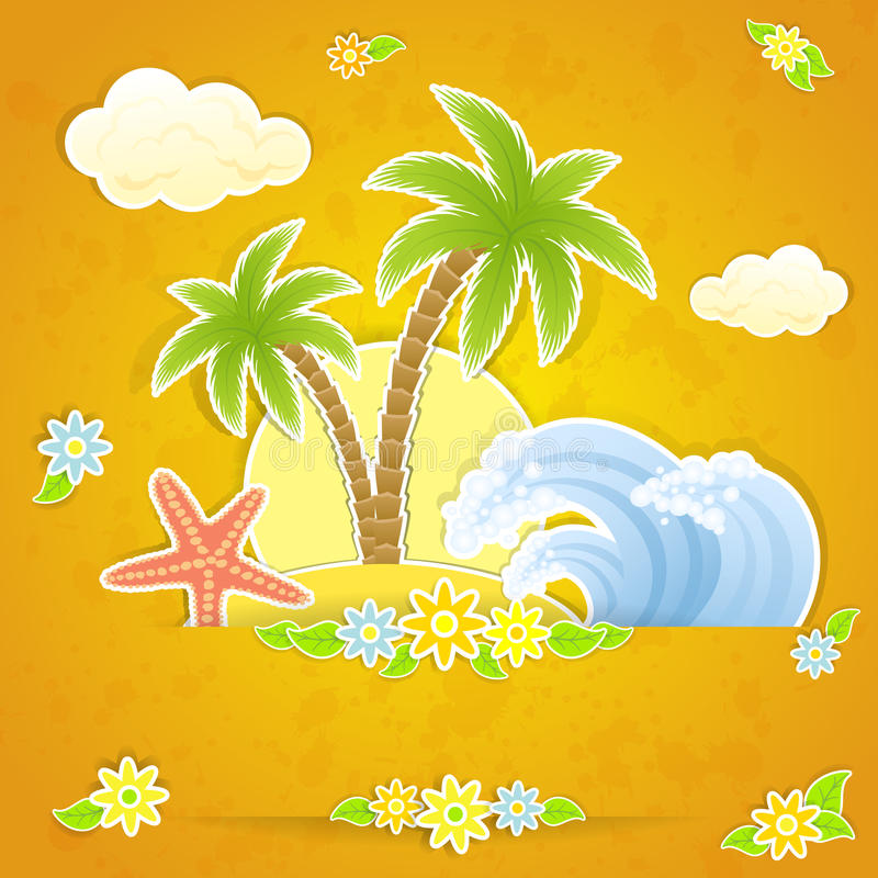 Download Tropical Background Royalty Free Stock Image - Image: 24415966