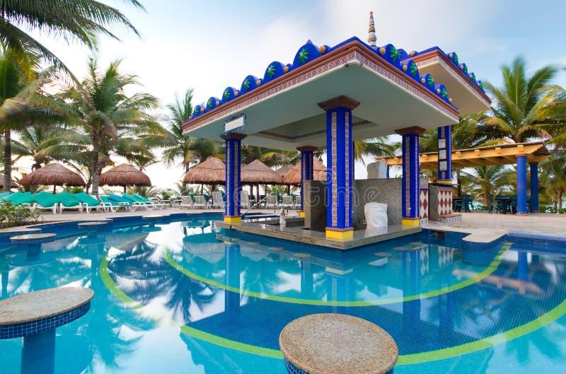 Download Tropical bar stock image. Image of resorts, nature, reflection - 20729495