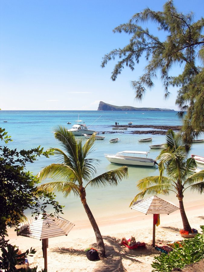 Download Tropical Beach stock photo. Image of turquoise, beach, mauritius - 108428