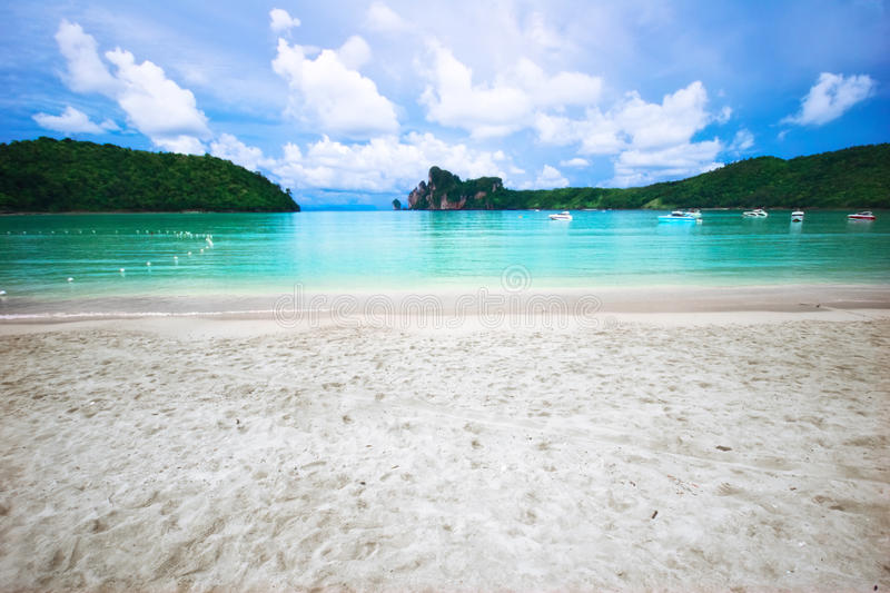 Download On the tropical beach stock image. Image of heaven, paradise - 10852403
