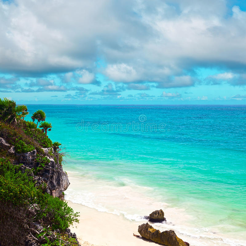 Download Tropical Beach stock image. Image of horizon, sunny, small - 28797623