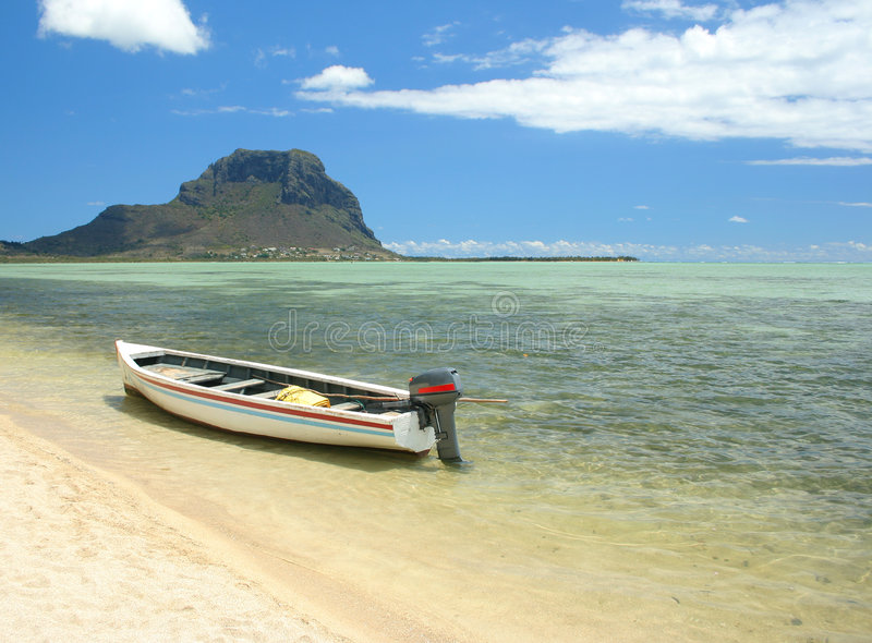 Download Tropical beach stock photo. Image of fishing, beach, turquoise - 3526796