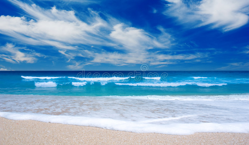 Download Tropical Beach stock image. Image of untouched, holiday - 4586169