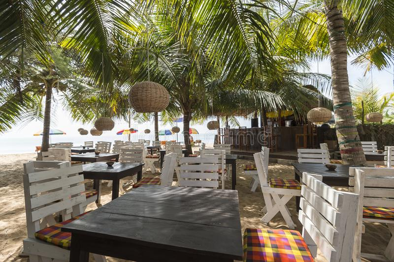 Tropical Beach Resort Bar