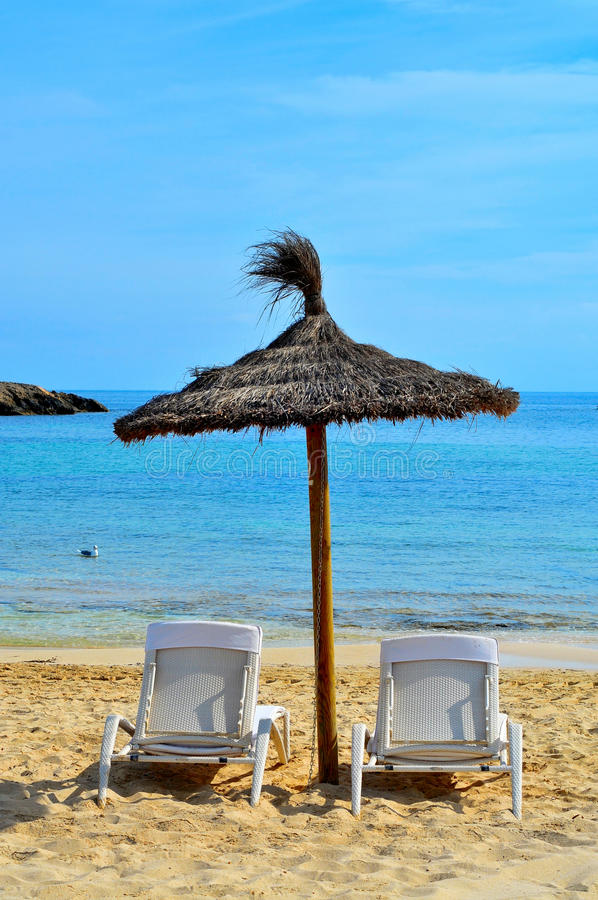 Download Tropical Beach In Formentera, Balearic Islands Stock Photo - Image: 27590972