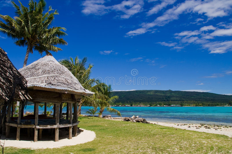 Download Tropical Beach Hut Stock Photography - Image: 6369802