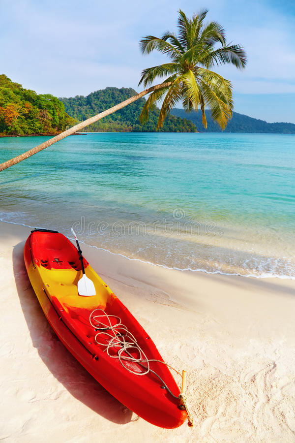 Tropical Beach, Kood Island, Thailand Stock Images